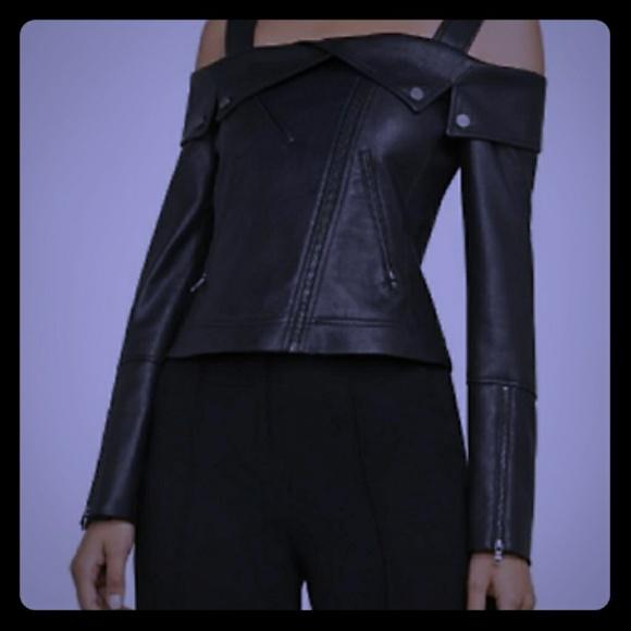 2871c5a24bd56 BCBGMaxAzria Jackets & Coats | Bcbg Maxazaria Clyde Faux Leather ...